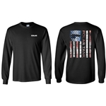 PR110<br>Long Sleeve Flag Tee