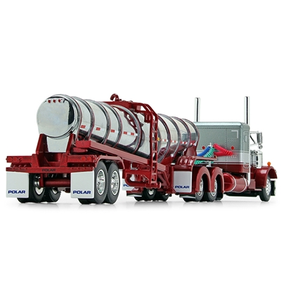 PR301<br>Scale model -  Polar Deep Drop w Peterbilt cab