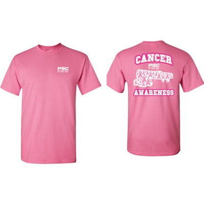PSC108AZA<br>Polar Service Center Breast Cancer Awareness Tee - Azalea
